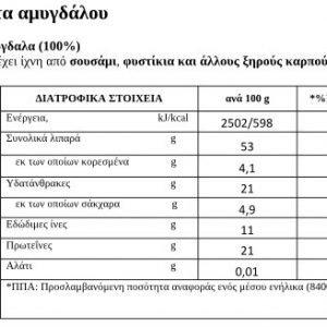 Πάστα Αμυγδάλου ΒΗΡΑ 250γρ 100% Ελληνική